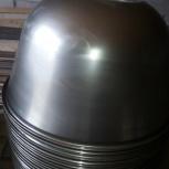 Чан  на 330 литров  для тестомеса Г4-МТМ-330, А2-ХТ3Б нерж. сталь, Воронеж